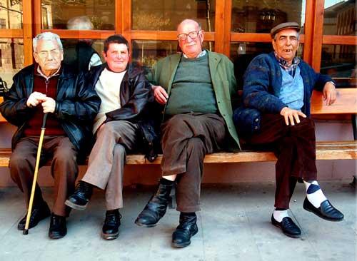 Los abuelos <p> del Casino