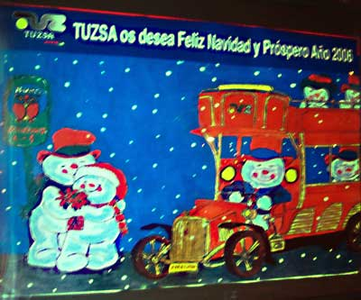 Autobuses navideños