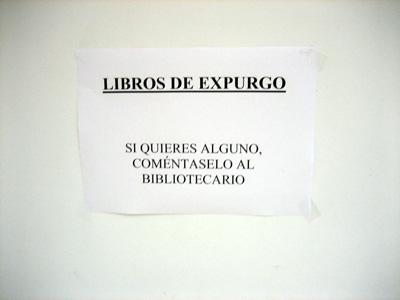 Libros de expurgo