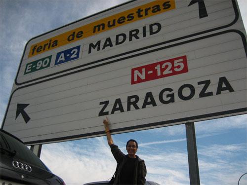 Oscense en Zaragoza