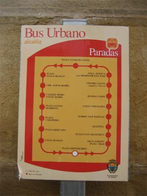 Bus urbano Alcañiz
