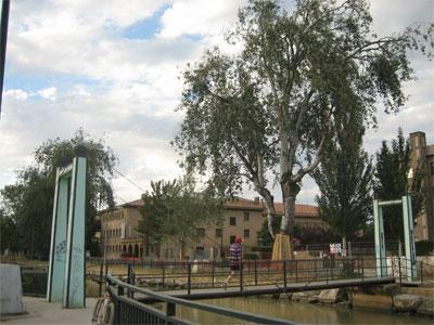 Puente en el Canal