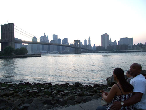 Atardecer en Brooklyn