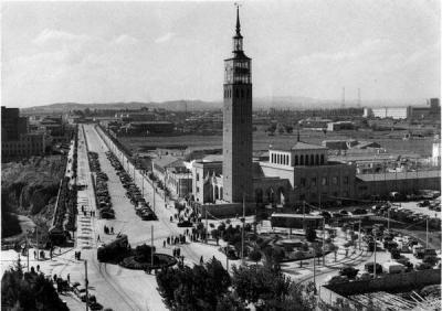 Tranvia en Zaragoza