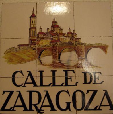 Calle Zaragoza en Madrid