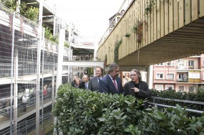 El Jardín vertical de las Delicias