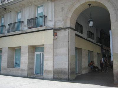 Sin McDonald´s en la Plaza España