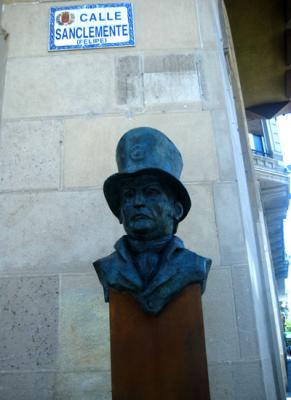 Felipe Sanclemente: un nuevo busto en Zaragoza